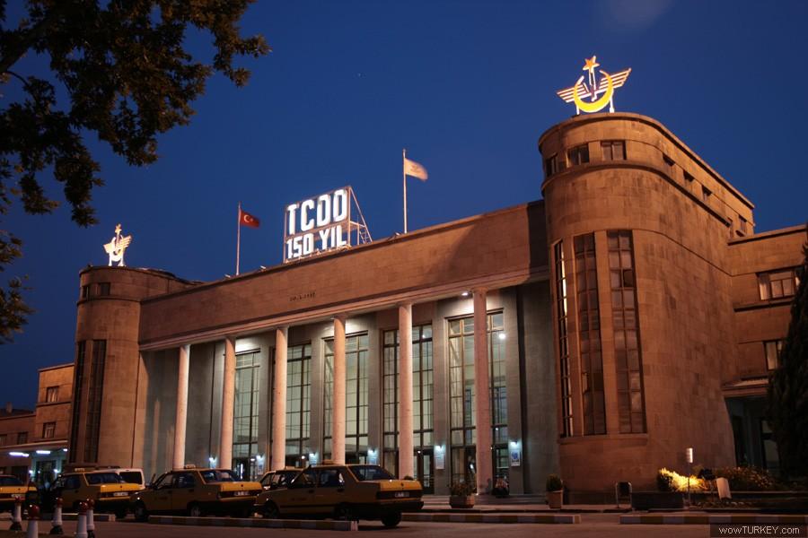 Ankara TCDD Tren Garı