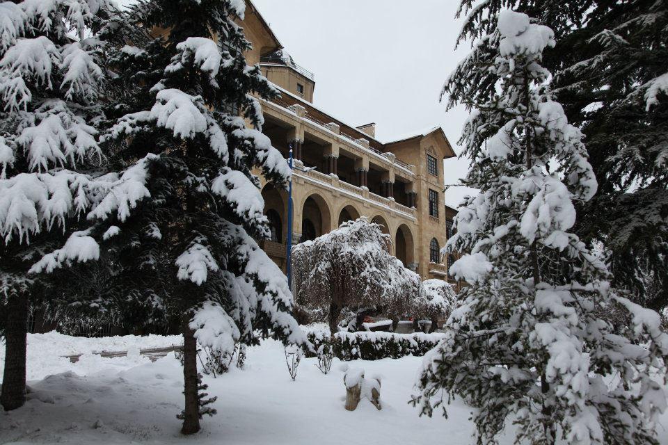 Kışın Gazi Üniversitesi